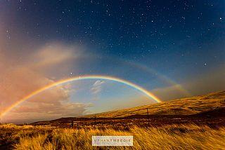 Arcobaleno di sera buon tempo si spera