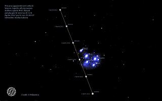 Venere e Pleiadi: una spettacolare combinazione!