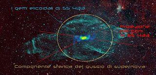 La nebulosa Lamantino e il suo microquasar SS 433