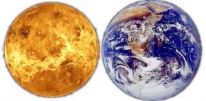 Venere e Terra sono molti simili dal punto di vista fisico ma hanno avuto storie molto diverse a causa della diversa distanza dal Sole.