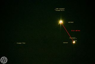 Congiunzione Venere – Giove del 18 agosto 2014