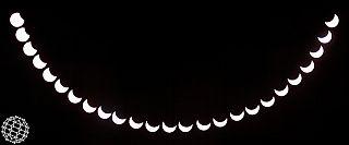 Una eclissi quasi alla cieca