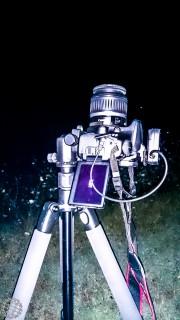 Per le meteore non occorre poi molto: Una DSRL, un obìettivo abbastanza luminoso, un cavalletto robusto e un telecomando. Credit: Il Poliedrico
