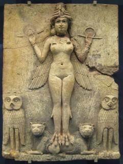La divinità persiana della fertilità: Ishtar, la quale non ha niente a che fare con le tradizioni cristiane ed ebree Credit: British Museum
